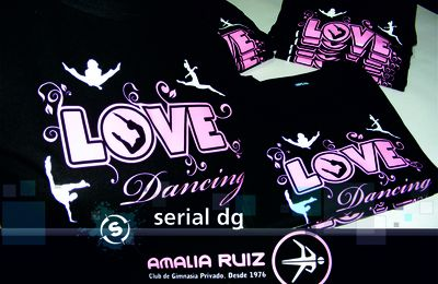 Remeras LOVE Dancing - Amalia Ruiz