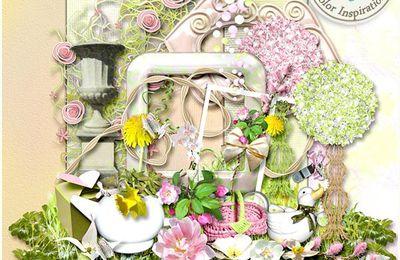 """kit de Benthai Créations """"let your colours spring"""""""