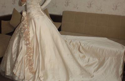 Robe de soirée pour mariée + Accessoires