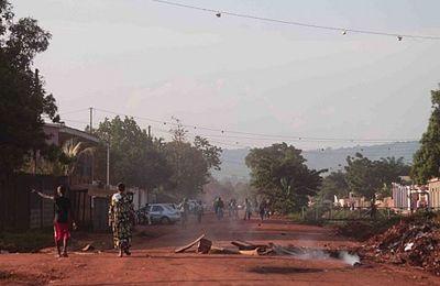 Bangui dans la rue pour protester contre le délestage et les pénuries d'eau