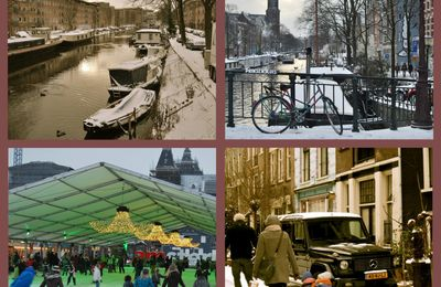 Amsterdam in winter time...