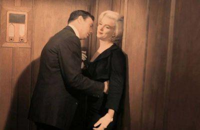 "1960 : Tournage ""Le Milliardaire"" avec Marilyn Monroe et Yves Montand, rares photos couleurs"