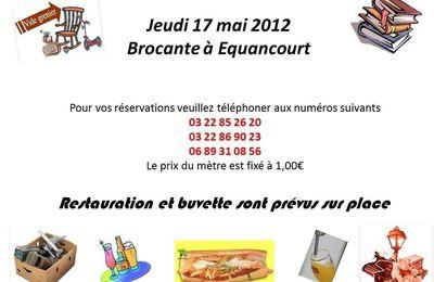 BROCANTE LE 17 MAI 2012
