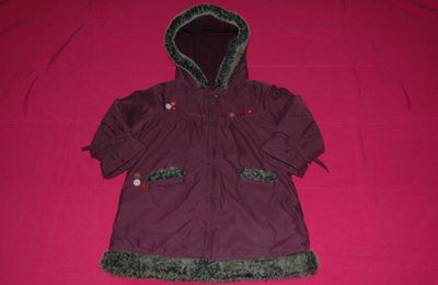 Blouson prune Sergent Major - 4 ans