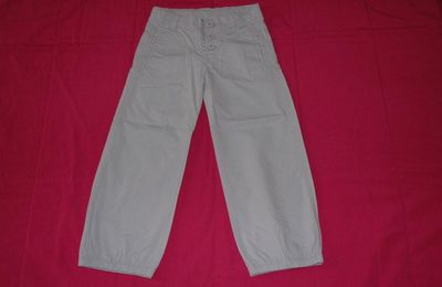 Pantalon parme Sergent Major - 5 ans