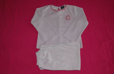 Pyjama rose / parme Sergent Major - 5 ans