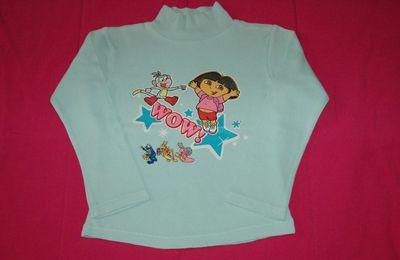 Tee shirt manches longues DORA - 6 ans