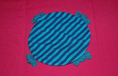 Chapeau turquoise - 6 mois