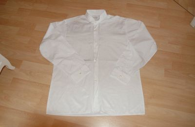 Chemise blanche - Jacques Pernet - Taille 39