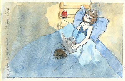 Regarder Dr House au lit avec P-Cat.