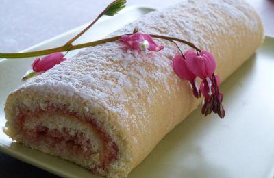 Gâteau roulé à la Gelée de Coings