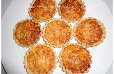 Mini Quiches aux Saumon