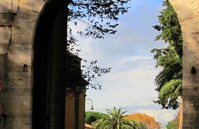Via di Porta Latina ... dopo un acquazzone
