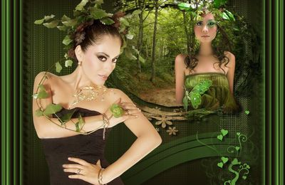 "Tuto ""Magical forest"""