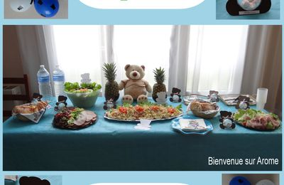 TABLE D'ANNIVERSAIRE NOUNOURS