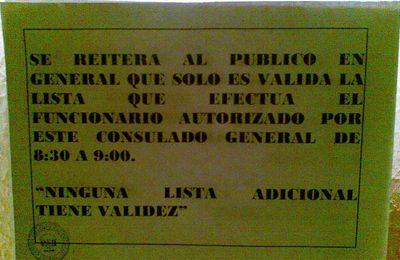 Solidarietà con il cittadino Peruviano picchiato dentro il Consolato