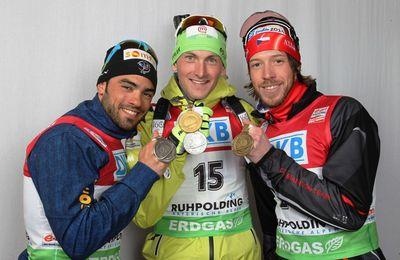 Mondiaux de biathlon hommes : Martin Fourcade triple