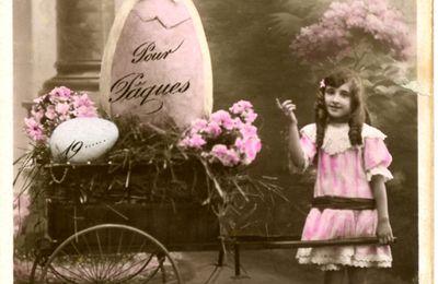 *** Cartes postales anciennes de Pâques ***
