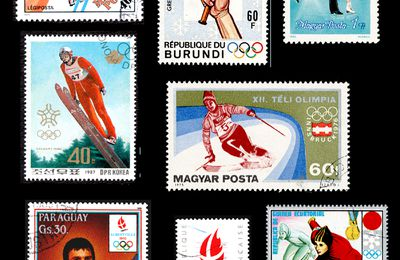 Timbres: Jeux Olympiques d'hiver