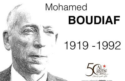 ALGERIE : Mohamed Boudiaf, le symbole assassiné