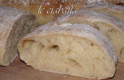 PAIN CIABATTA - By FREDERIC LALOS Meilleur ouvrier de France