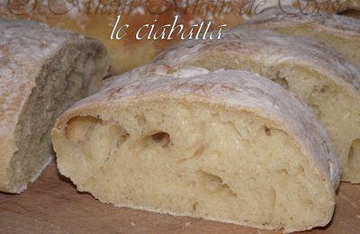 PAIN CIABATTA - By FREDERIC LALOS Meilleur ouvrier de France