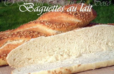 BAGUETTES AU LAIT