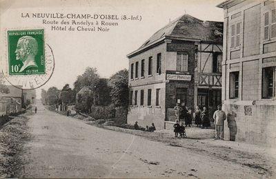 Le Café Guédin à La Neuville Chant d'Oisel