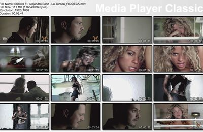 Video - La Tortura - Shakira Ft. Alejandro Sanz