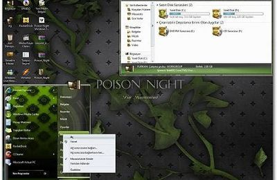 Tema Poison Night Para Windows 7