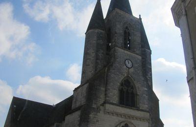 l'eglise de Mézières en Brenne (36)