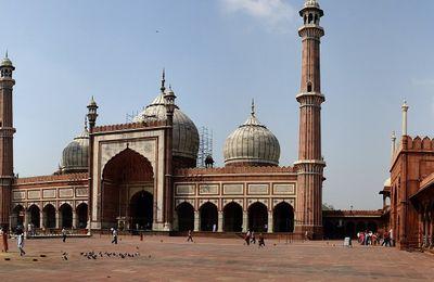Delhi : la Jama Masjib.