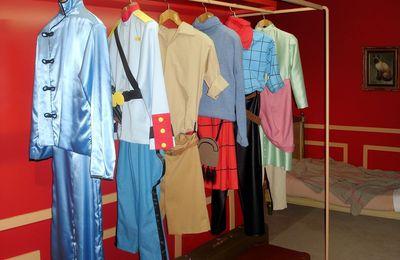Les tenues de Tintin