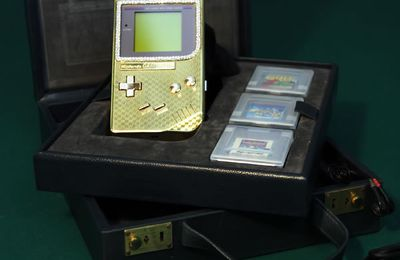 Retro Geek - GameBoy : une console en or ?