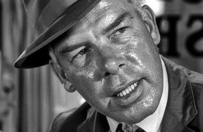 """STEEL"" : Lee Marvin dans ""The Twilight Zone"""