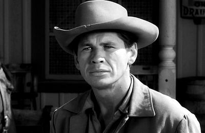 """LOST RIFLE"" : Bronson dans ""Gunsmoke"""