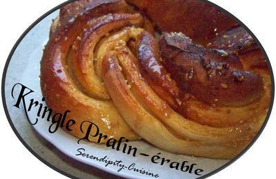 Kringle pralin-sirop d'érable