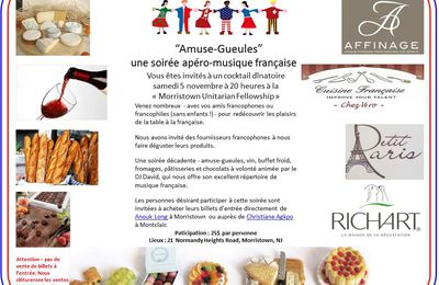 Amuse-gueules...french party