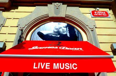 Marilyn à Prague.