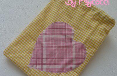 """1er essai """"Couture"""" : un petit sac en tissu"""