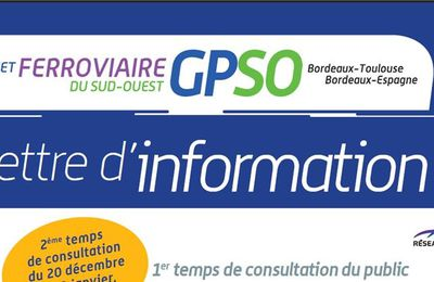 GPSO : Lettre d'Information N°7