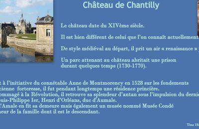 Château de Chantilly (Oise) = Les grandes eaux de Chantilly
