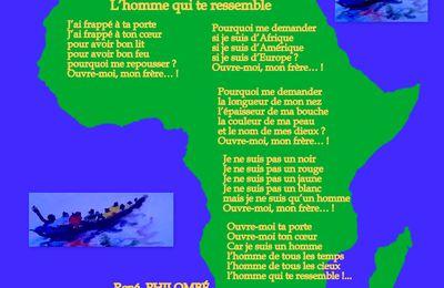 L'homme qui te ressemble - Poèsie du Cameroun - René PHILOMBÉ