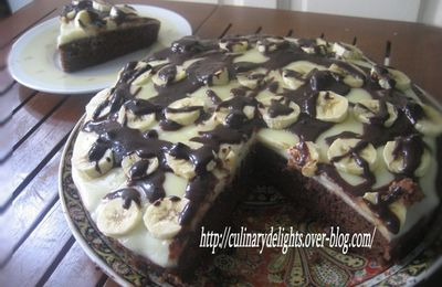 Gateau chocolate' a la banane