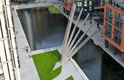 ARCHI-Pont amovible-SCULPTURE-Londres