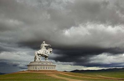 ART-SCULPTURE-Monument de Ghengis Khan-Terelj National Park-Mongolie
