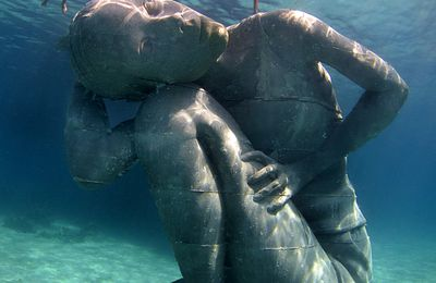 "ART-SCULPTURE-""Ocean Atlas""-Jason DeCaires Taylor,"