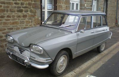 Grâce au break, l'Ami 6 est la voiture la plus vendue en France en 1966.