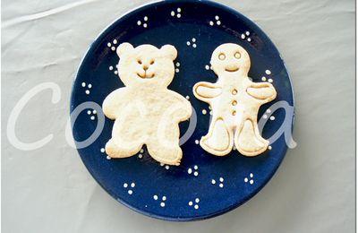 L'ourson et le bonhomme de pain d'épice...aux épices