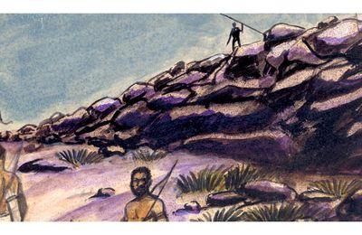 Détail d'une illustration sur Soundjata